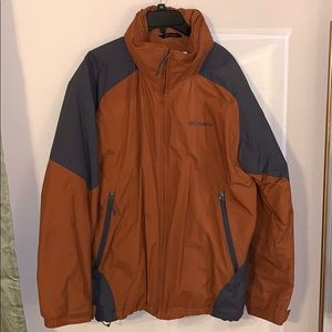 Rust/Gray Columbia Coat